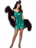 Jade Sequin Flapper Costume, halloween costume (Jade Sequin Flapper Costume)