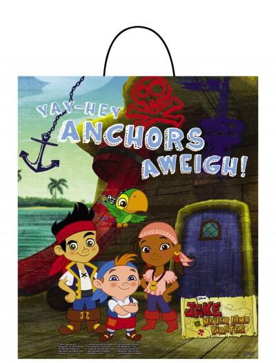 Jake and the Neverland Pirates Essential Treat Bag, halloween costume (Jake and the Neverland Pirates Essential Treat Bag)