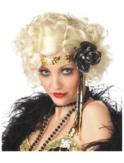 Jazz Wig - Blonde, halloween costume (Jazz Wig - Blonde)