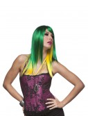 Jewel Emerald and Yellow Wig, halloween costume (Jewel Emerald and Yellow Wig)