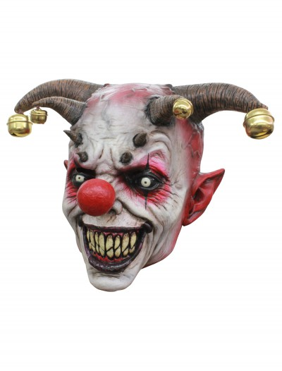 Jingle Jangle Clown Mask, halloween costume (Jingle Jangle Clown Mask)