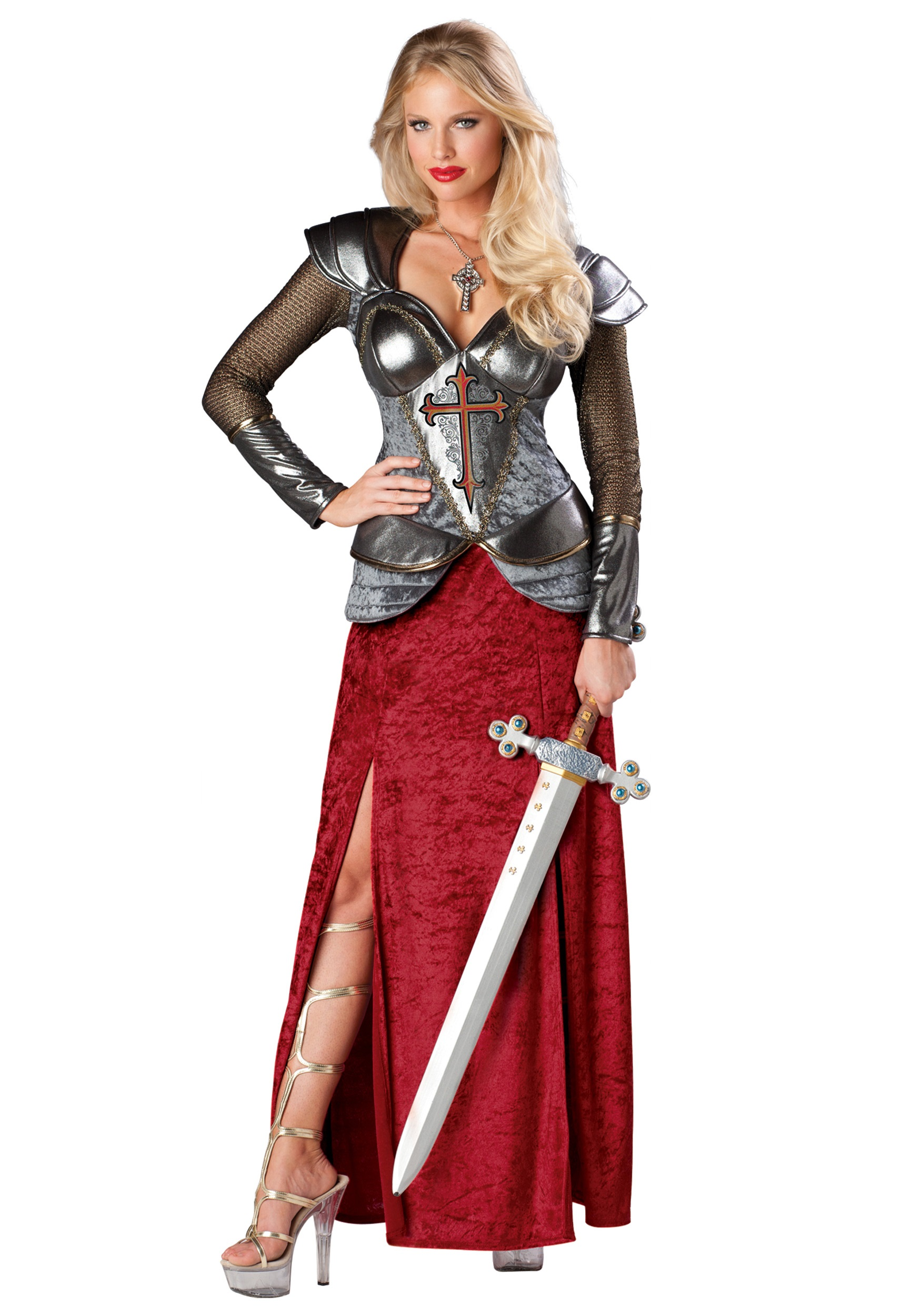 Joan of Arc Costume  sc 1 st  Halloween Costumes : female knight costumes  - Germanpascual.Com
