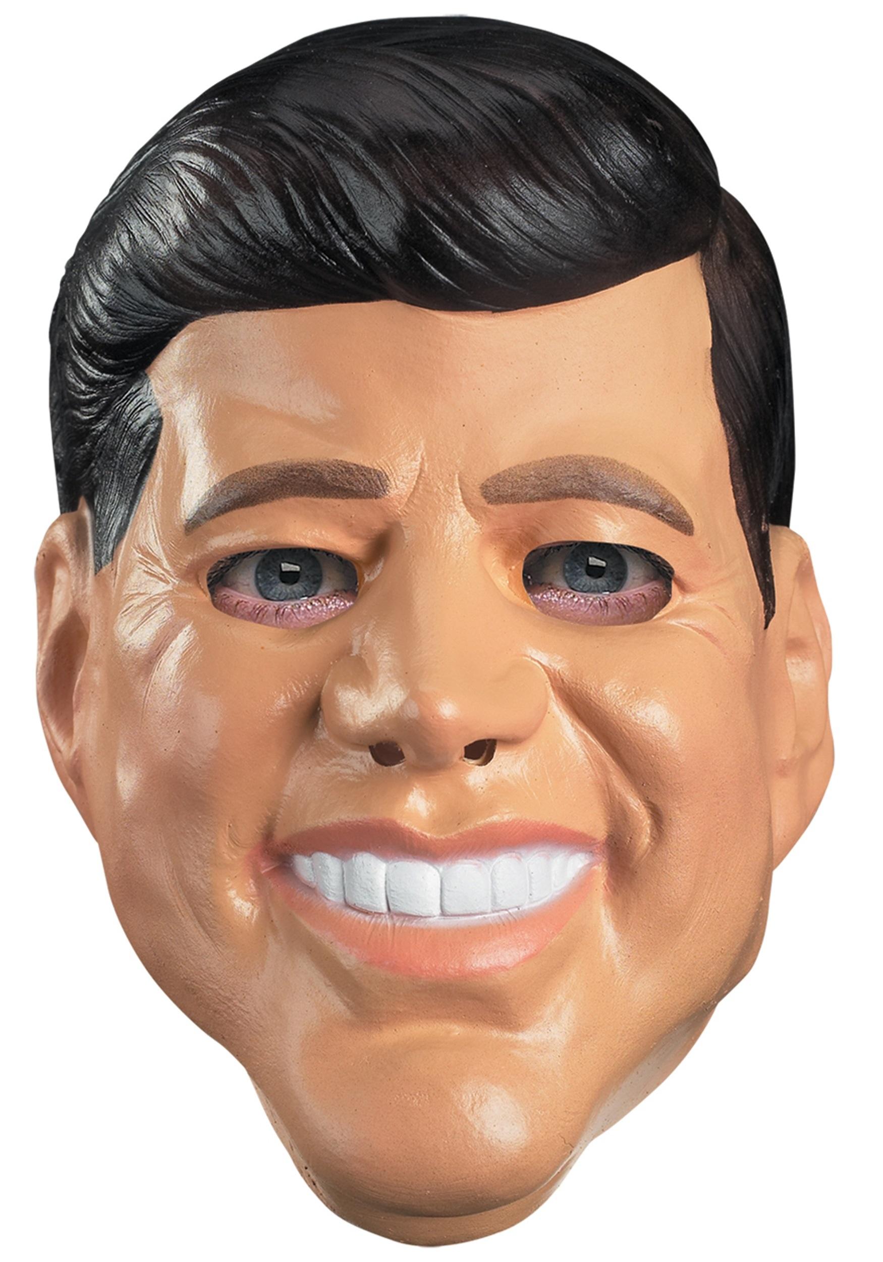 John F. Kennedy Mask - Halloween Costumes