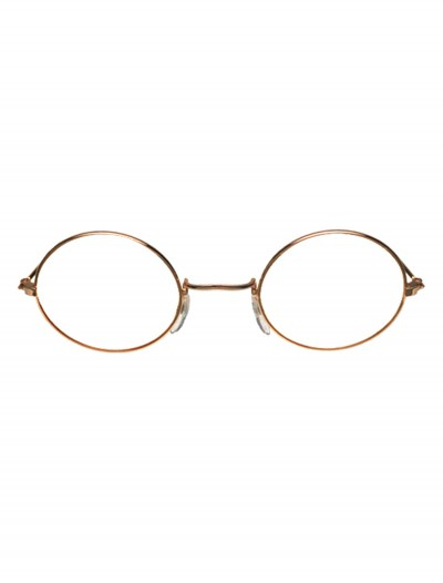 John Glasses Gold and Clear, halloween costume (John Glasses Gold and Clear)