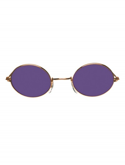 John Glasses Gold and Purple, halloween costume (John Glasses Gold and Purple)