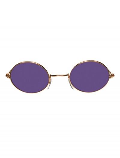 John Glasses Gold and Purple, halloween costume (John Glasses Gold and Purple)