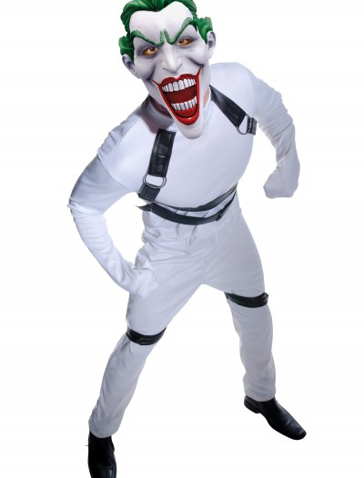 Joker Arkham Straight Jacket Costume, halloween costume (Joker Arkham Straight Jacket Costume)