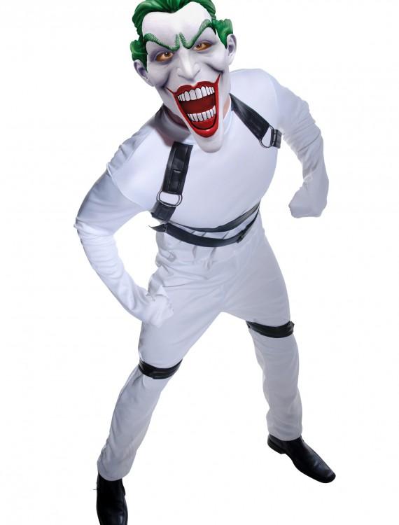 Joker Arkham Straight Jacket Costume, halloween costume (Joker Arkham Straight Jacket Costume)