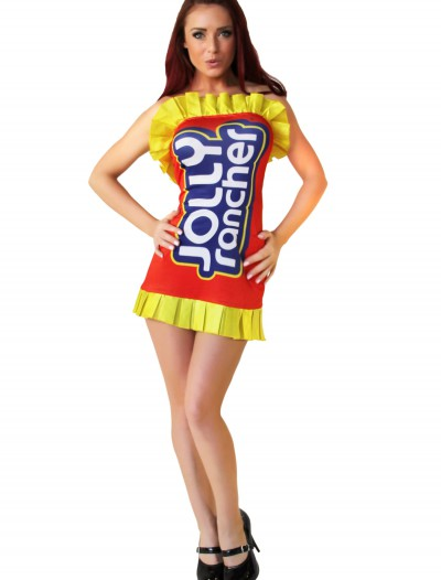 Jolly Rancher Red Costume Dress, halloween costume (Jolly Rancher Red Costume Dress)