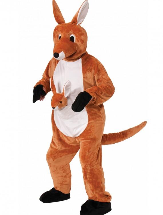 Jumpin Jenny Kangaroo Mascot Costume, halloween costume (Jumpin Jenny Kangaroo Mascot Costume)