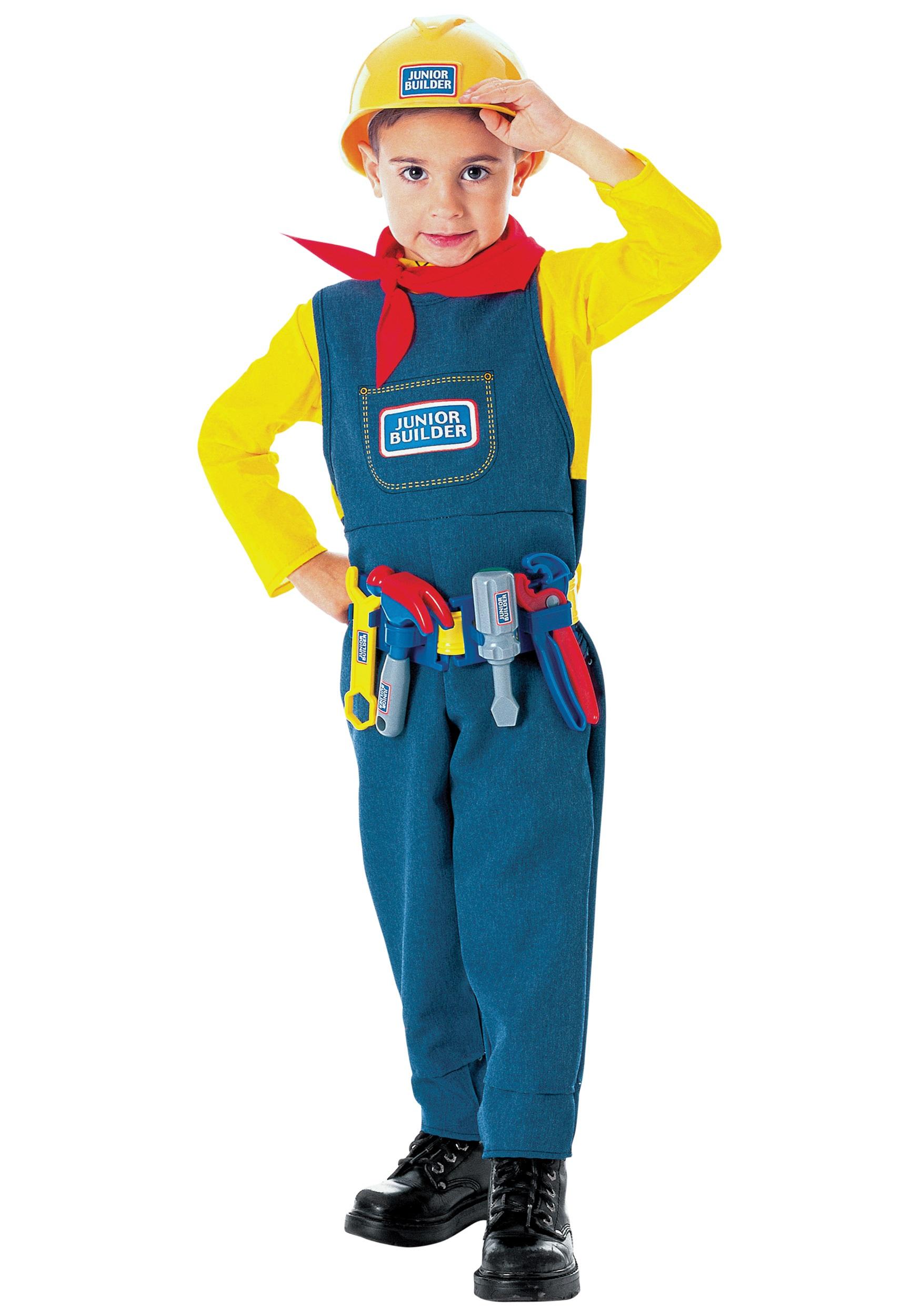 Junior Builder Toddler Costume  sc 1 st  Halloween Costumes & Junior Builder Toddler Costume - Halloween Costumes