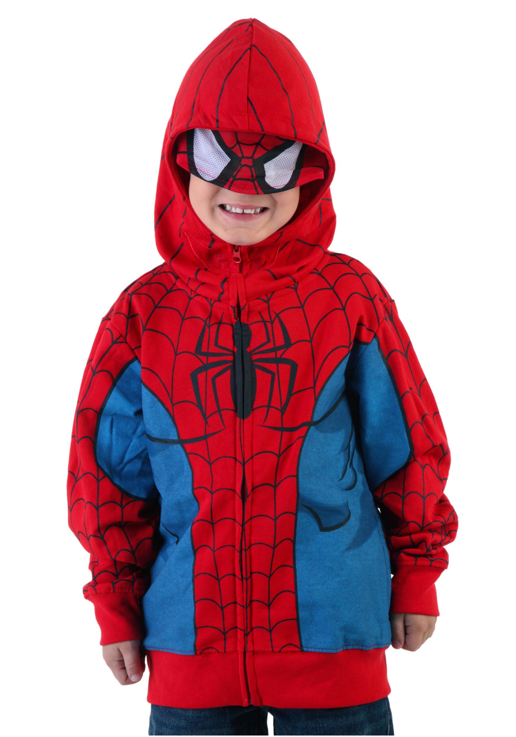 Juvenile Spider-Man Costume Hoodie - Halloween Costumes