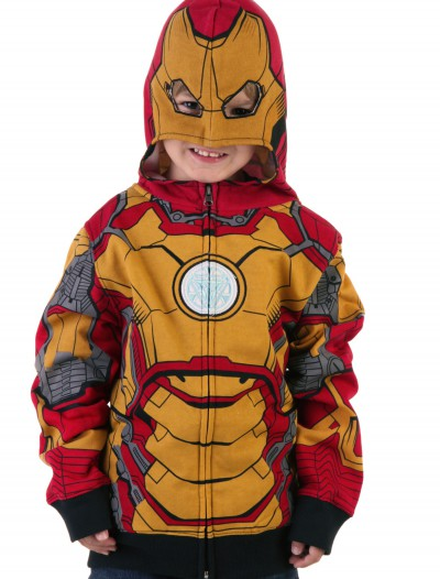 Juvy Iron Man 42 Costume Hoodie, halloween costume (Juvy Iron Man 42 Costume Hoodie)