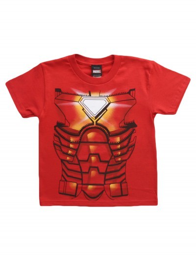 Juvy Iron Man Costume TShirt, halloween costume (Juvy Iron Man Costume TShirt)