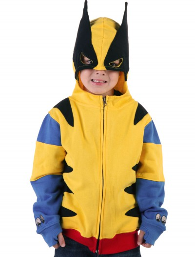 Juvy Wolverine Hoodie, halloween costume (Juvy Wolverine Hoodie)