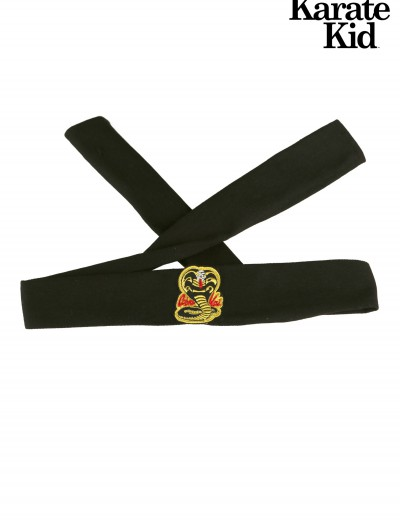Karate Kid Cobra Kai Headband, halloween costume (Karate Kid Cobra Kai Headband)