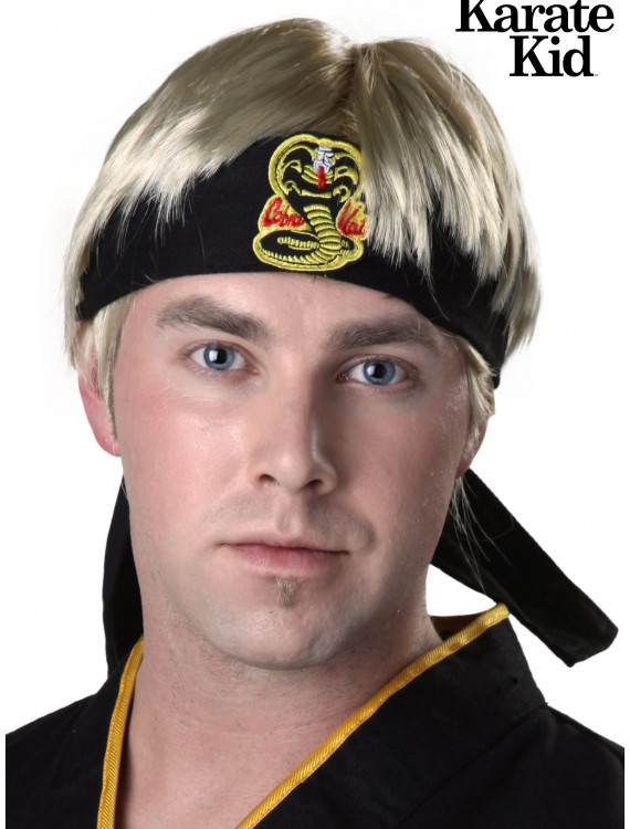 Karate Kid Johnny Wig, halloween costume (Karate Kid Johnny Wig)