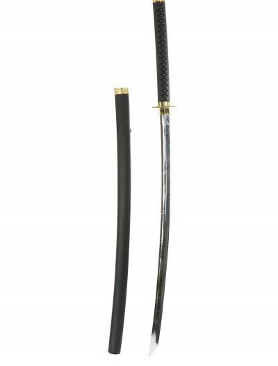 Katana Ninja Sword w/Chrome Finish, halloween costume (Katana Ninja Sword w/Chrome Finish)
