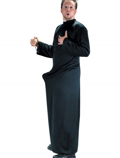 Keep Up the Faith Priest Costume, halloween costume (Keep Up the Faith Priest Costume)