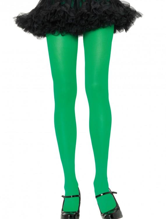 Kelly Green Nylon Tights, halloween costume (Kelly Green Nylon Tights)