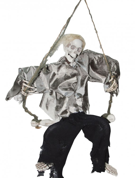 Kicking Reaper on Swing, halloween costume (Kicking Reaper on Swing)