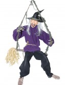 Kicking Witch on Swing, halloween costume (Kicking Witch on Swing)
