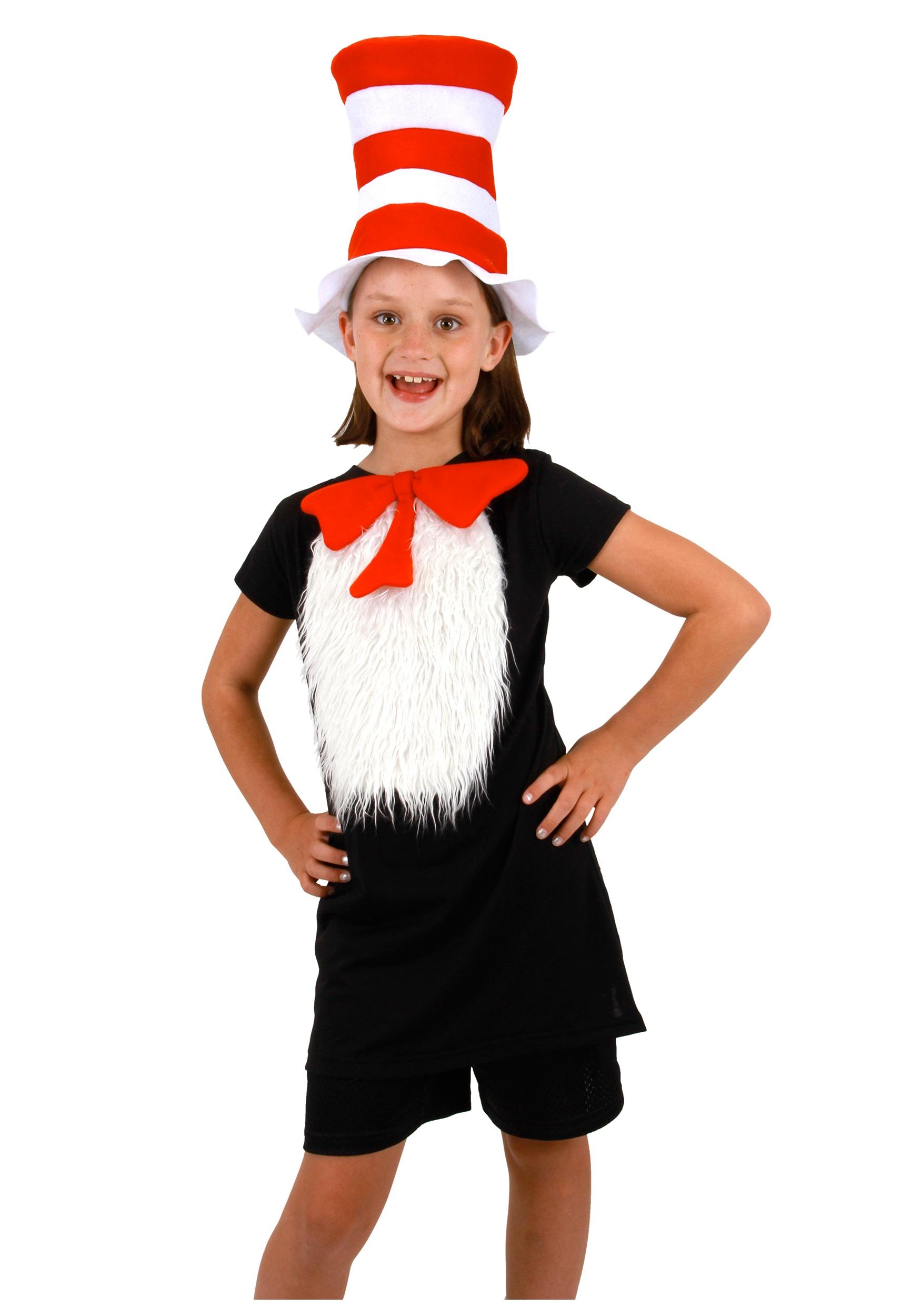 Kid Cat in the Hat Insta-Tux Kit - Halloween Costumes