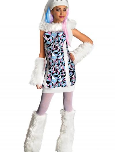 Kids Abbey Bominable Costume, halloween costume (Kids Abbey Bominable Costume)