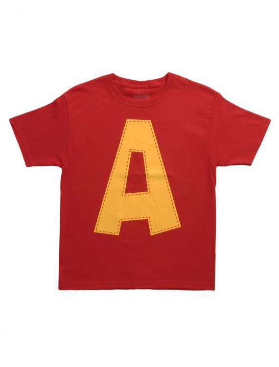 Kids Alvin A Costume T-Shirt, halloween costume (Kids Alvin A Costume T-Shirt)