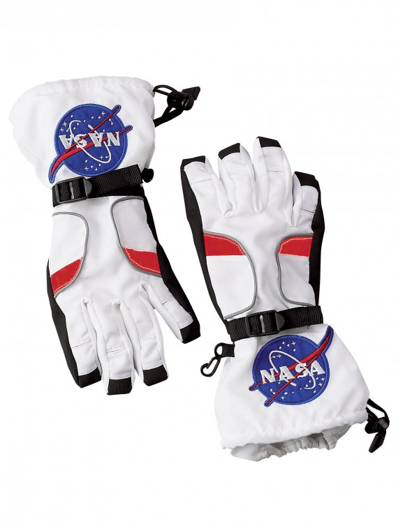 Kids Astronaut Gloves, halloween costume (Kids Astronaut Gloves)