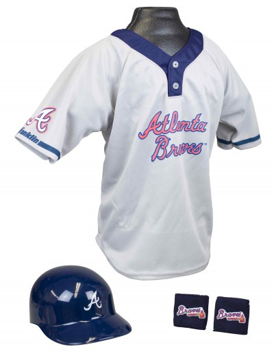 Kids Atlanta Braves Uniform, halloween costume (Kids Atlanta Braves Uniform)