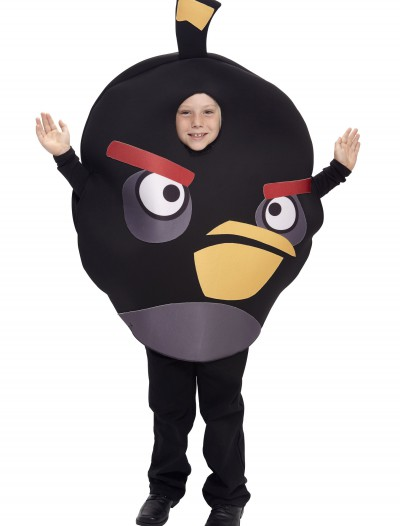 Kids Black Angry Bird Costume, halloween costume (Kids Black Angry Bird Costume)
