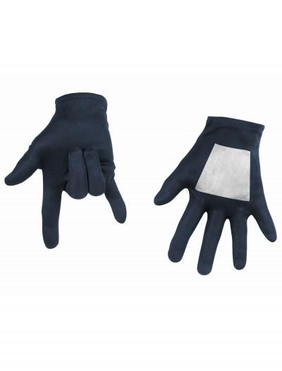 Kids Black Spiderman Gloves, halloween costume (Kids Black Spiderman Gloves)