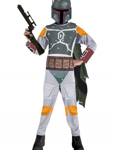 Kids Boba Fett Costume, halloween costume (Kids Boba Fett Costume)