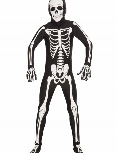 Kids Bone Skin Suit, halloween costume (Kids Bone Skin Suit)