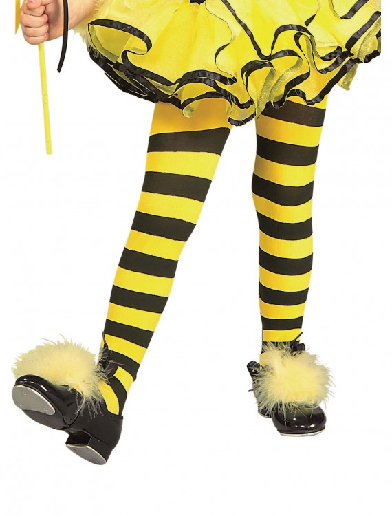 Kids Bumblebee Tights, halloween costume (Kids Bumblebee Tights)