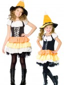 Kids Candy Corn Witch, halloween costume (Kids Candy Corn Witch)