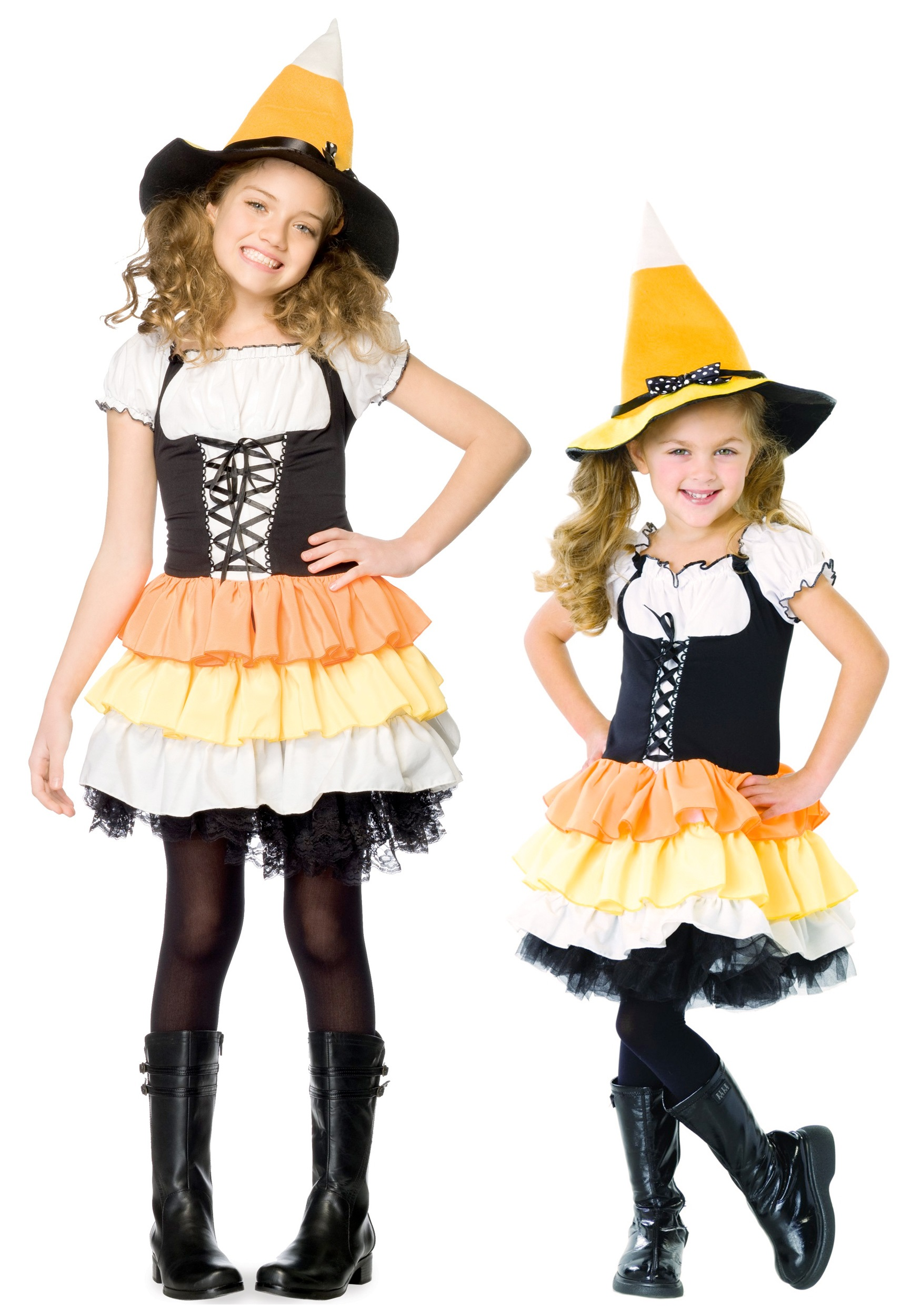 Kids Candy Corn Witch  sc 1 st  Halloween Costumes & Kids Candy Corn Witch - Halloween Costumes