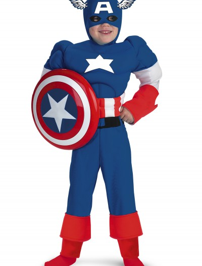 Child Captain America Costume, halloween costume (Child Captain America Costume)