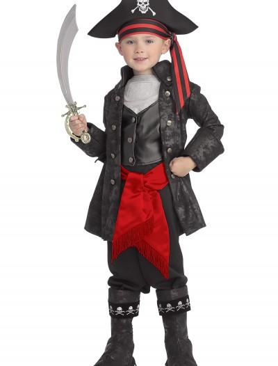 Kid's Captain Black Pirate Costume, halloween costume (Kid's Captain Black Pirate Costume)