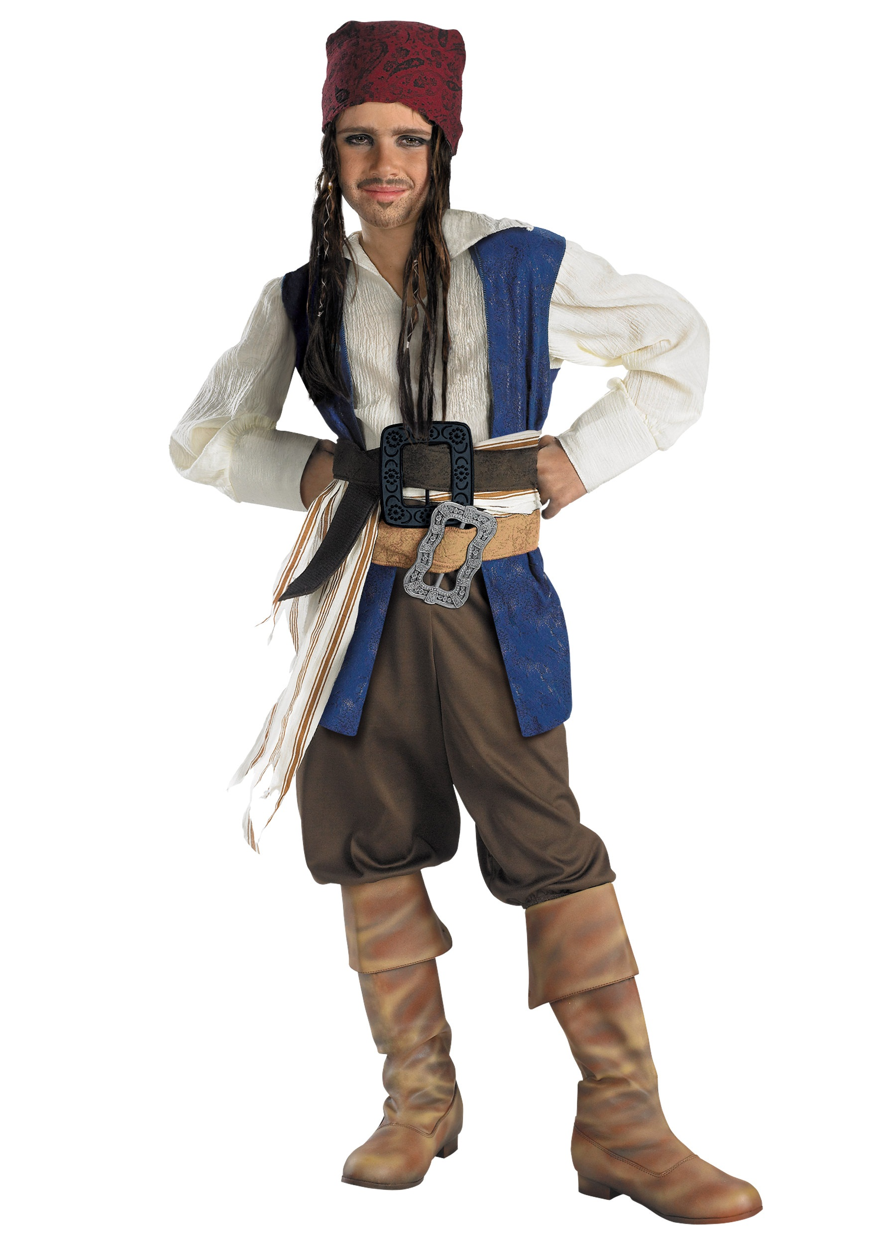 kid's captain jack sparrow costume - halloween costumes