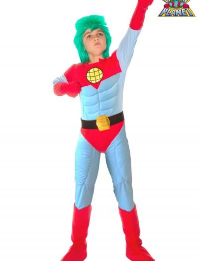 Kids Captain Planet Costume, halloween costume (Kids Captain Planet Costume)