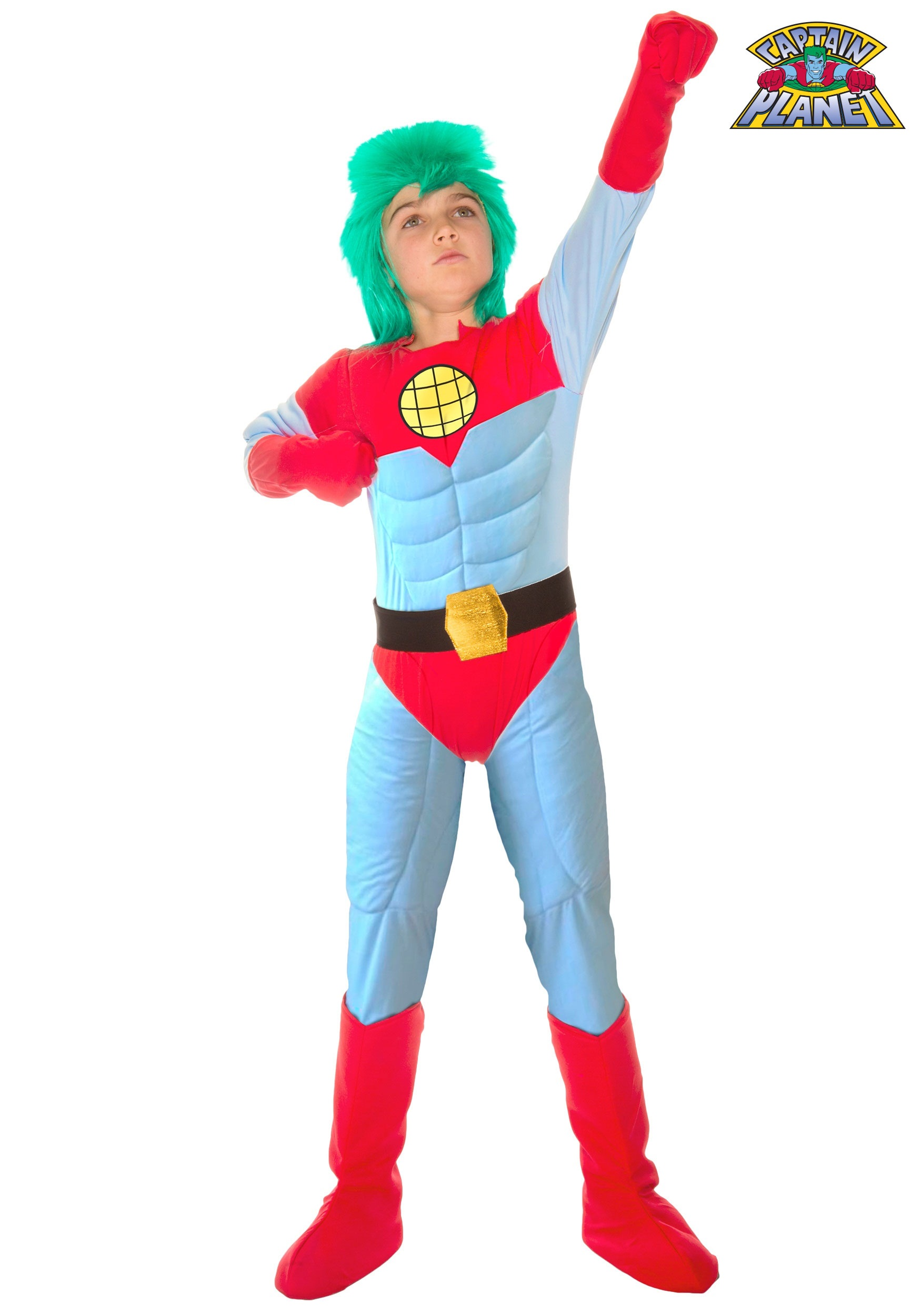 kids captain planet costume