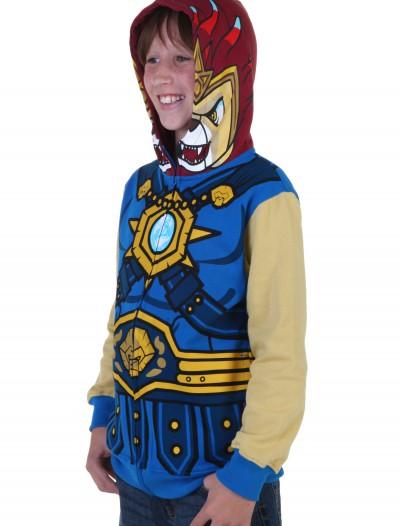 Kids Chima Laval Costume Hoodie, halloween costume (Kids Chima Laval Costume Hoodie)