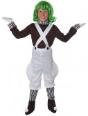 Kids Chocolate Factory Worker Costume, halloween costume (Kids Chocolate Factory Worker Costume)