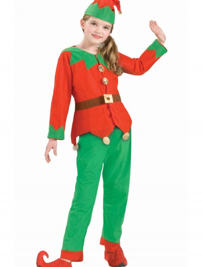 Kids Christmas Elf Costume, halloween costume (Kids Christmas Elf Costume)