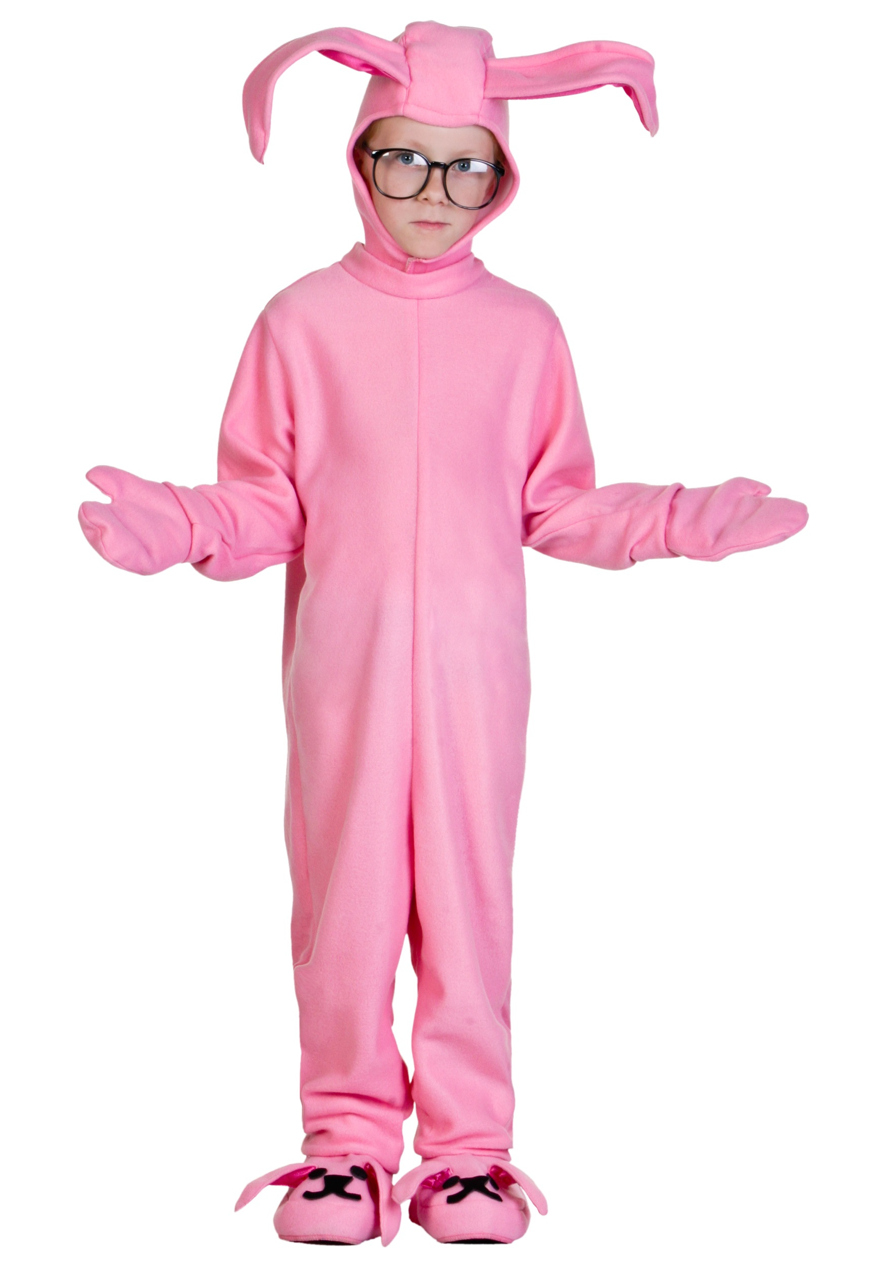 Kids Christmas Story Bunny Costume - Halloween Costumes