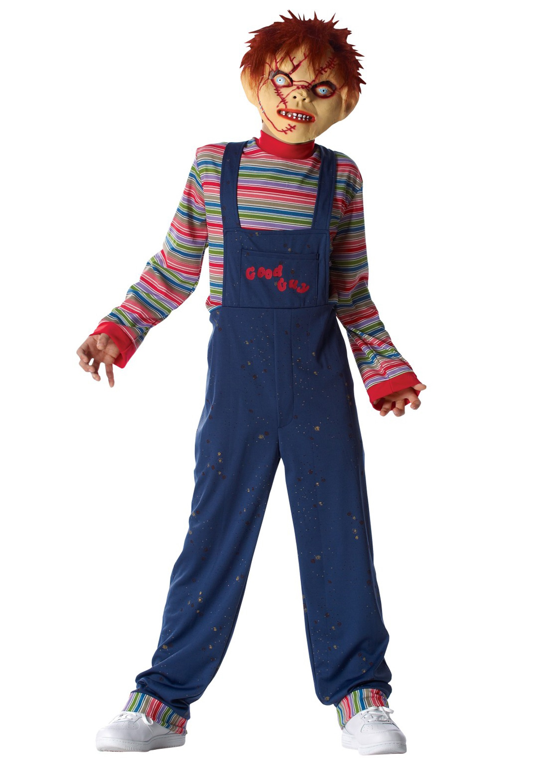 Scary Halloween Costume Ideas For Kids.Kids Chucky Costume