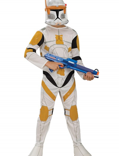 Kids Clone Commander Cody Costume, halloween costume (Kids Clone Commander Cody Costume)