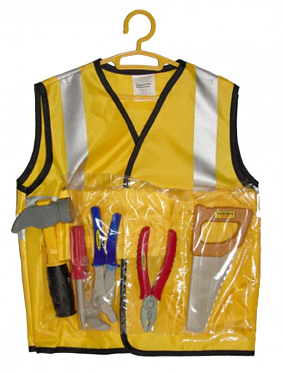 Kids Construction Worker Kit, halloween costume (Kids Construction Worker Kit)